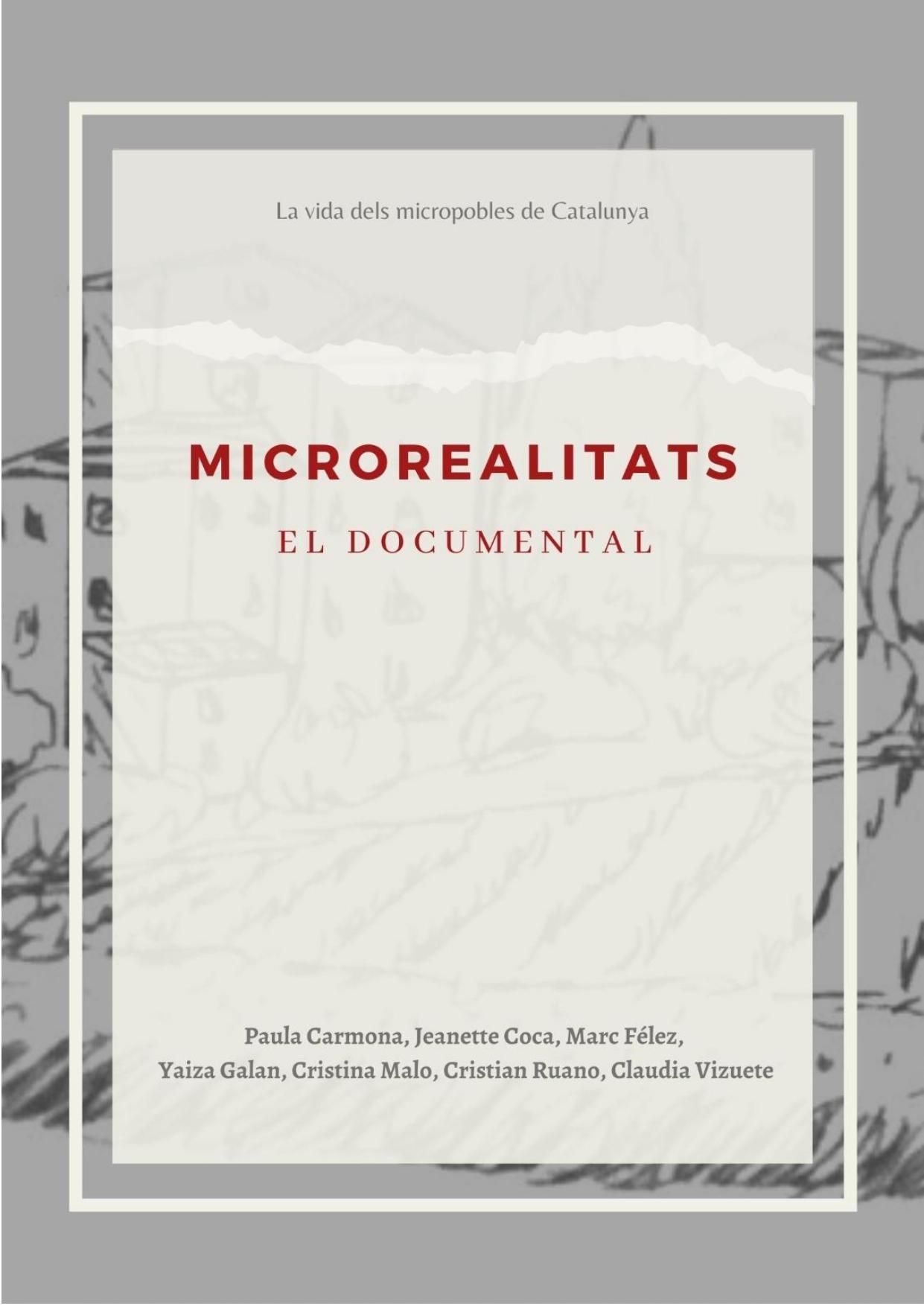 'MICROREALITATS', EL PROJECTE GUANYADOR DEL DOCS COOPERANTS 2020
